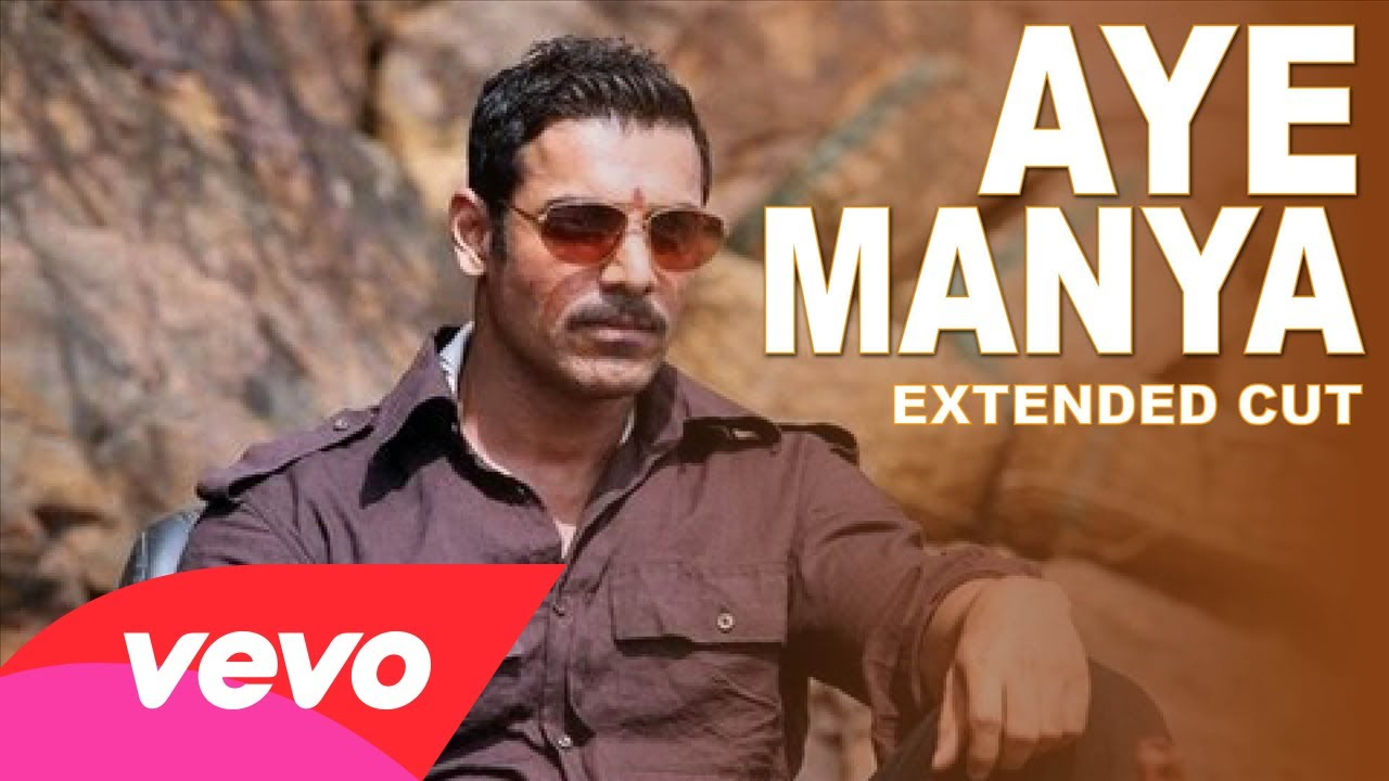 Aye Manya Lyrics - Shootout at Wadala - 2013