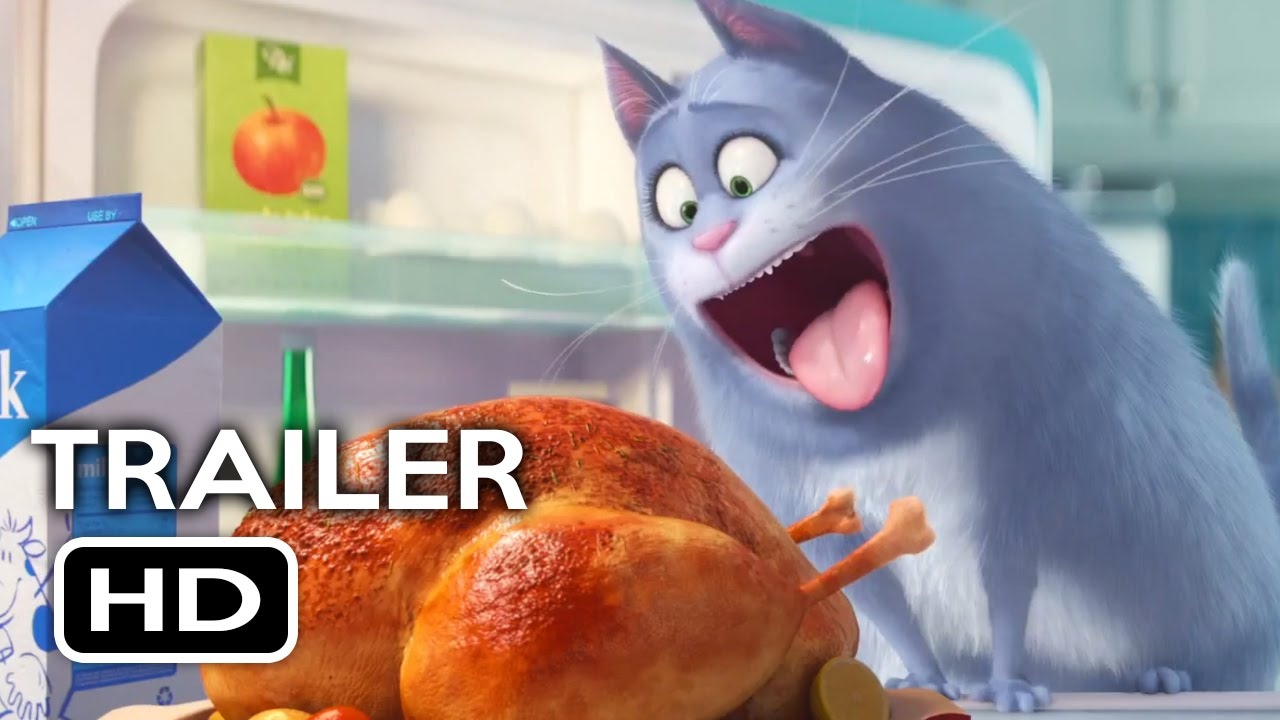 the secret life of pets official trailer. Black Bedroom Furniture Sets. Home Design Ideas
