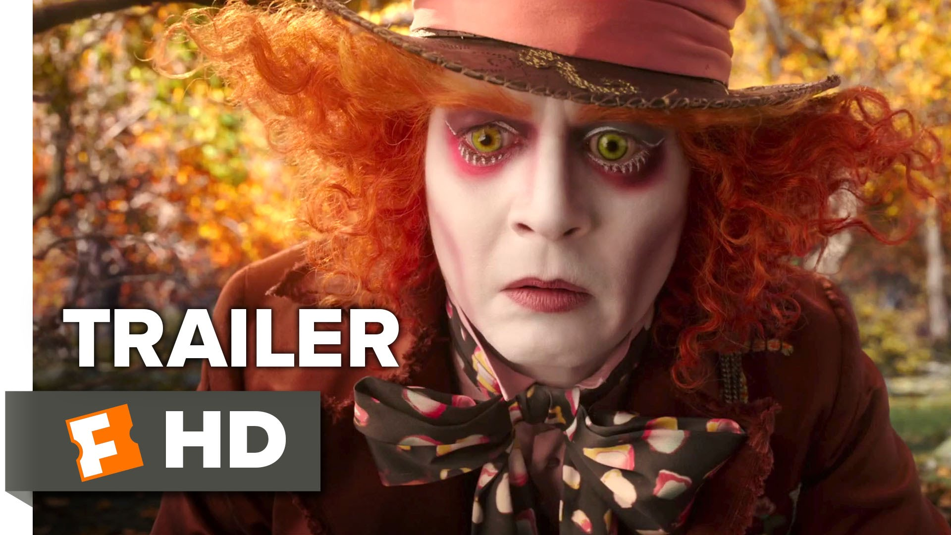 Alice Through The Looking Glass Official Trailer ...